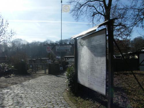 Eingang zum Vereinsheim